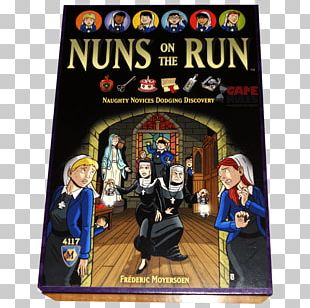 Board Game Nuns On The Run Player Video Games PNG