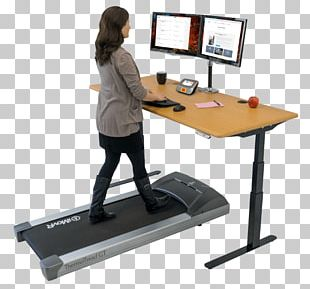 Treadmill Desk Standing Desk Sit-stand Desk PNG