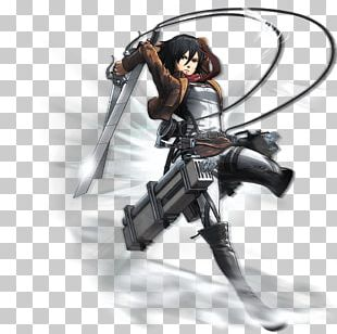 A.O.T.: Wings Of Freedom Attack On Titan Concept Art Mikasa Ackerman PNG