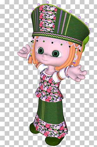 Doll Animated Cartoon Figurine PNG
