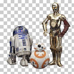 R2-D2 C-3PO BB-8 Yoda Chewbacca PNG