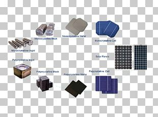 Solar Cell Solar Panels Photovoltaic System Polycrystalline Silicon Photovoltaics PNG