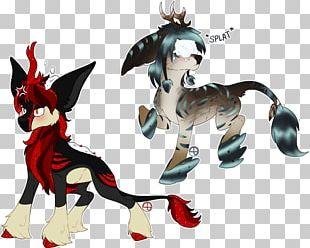 Horse Demon Carnivora Legendary Creature PNG