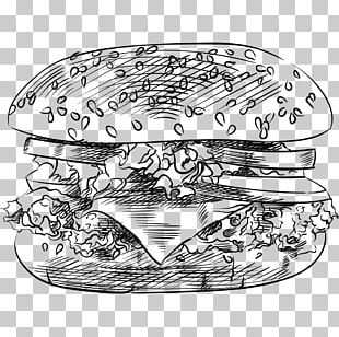 Hamburger Drawing Big N Tasty PNG