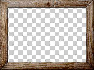 Square Symmetry Chessboard Frame Pattern PNG