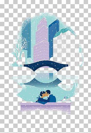 New York City Tiffany & Co. Christmas Window Diamond Illustration PNG