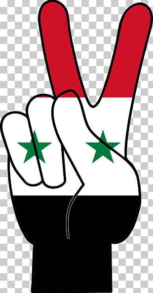 Syrian Civil War T-shirt Peace Symbols Flag Of Syria PNG