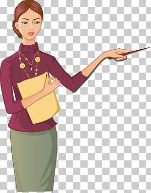 Teacher School Cartoon PNG