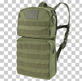 MOLLE Hydration Pack Condor Hydrate Coyote Brown PNG