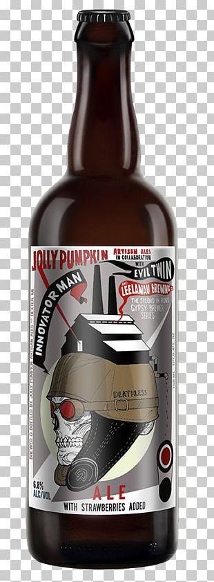 Jolly Pumpkin Artisan Ales Beer Bottle India Pale Ale PNG