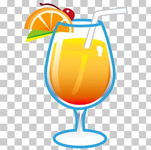 Cocktail Orange Drink Juice Fizzy Drinks Kefir PNG