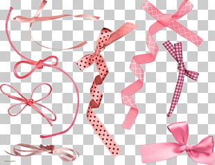 Ribbon Bow Tie Pink M Clothing Accessories Font PNG