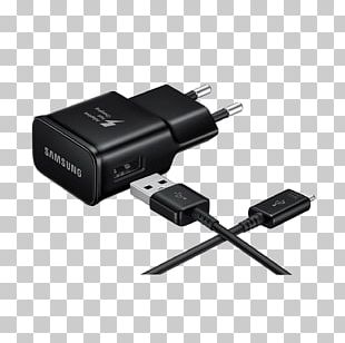 AC Adapter USB Charger Samsung EP-TA20 EP-TA20 Mains Socket Quick Charge USB-C PNG