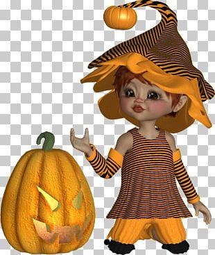 Calabaza Pumpkin Halloween PNG