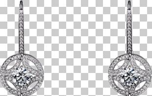Earring Cartier Jewellery Diamond Brilliant PNG