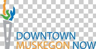 Logo Downtown Muskegon Now Brand Public Relations Product PNG