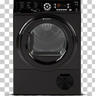 Hotpoint Ultima S-Line SUTCD 97B 6-M Clothes Dryer Siemens WT4HY790GB Heat Pump Condenser Tumble Dryer Home Appliance PNG