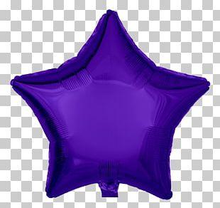 Toy Balloon Blue Color Foil Violet PNG