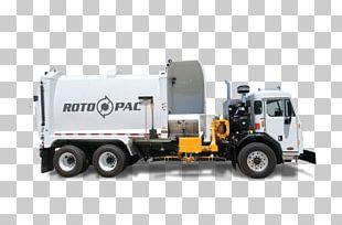 Garbage Truck Waste Loader Landfill PNG