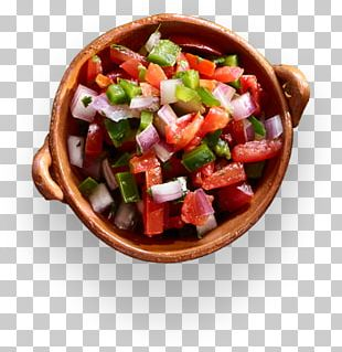Greek Salad Salsa Pico De Gallo Mexican Cuisine Nachos PNG