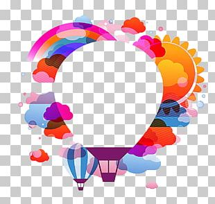 Hot Air Balloon Flight Stock Photography PNG