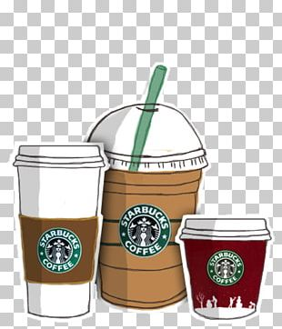 Starbucks Coffee Drawing Frappuccino PNG