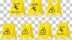 Wet Floor Sign Warning Sign Pictogram Business PNG