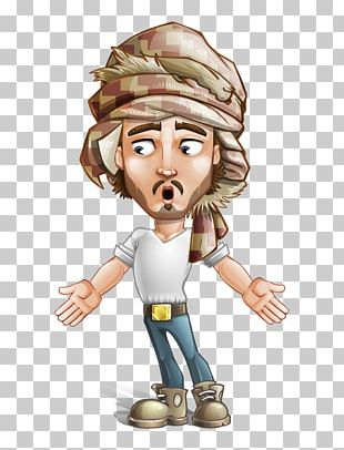 Cartoon Character Male PNG