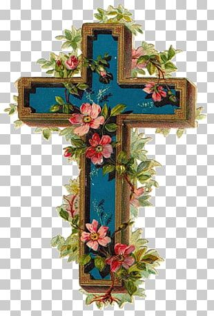 Christian Cross Easter PNG