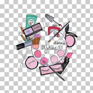 Cosmetics Make-up Artist Fashion Illustration Lipstick Illustration PNG