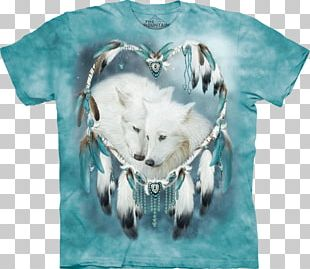 T-shirt Hoodie Gray Wolf Sleeve PNG