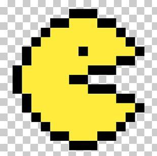 Pac-Man World 3 Pixel Art PNG