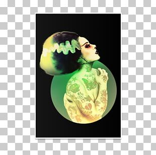 Monster Bride Of Frankenstein Art Lowbrow PNG