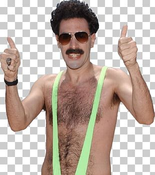 Borat Thumbs Up Bathing Suit PNG
