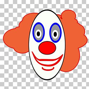 Clown Cartoon Face PNG