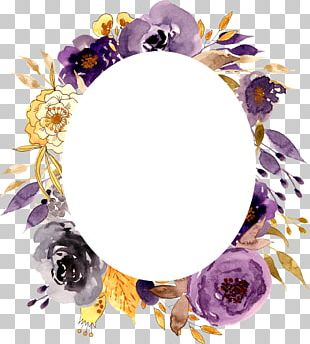 Frames Flower Photography Watercolor Painting PNG