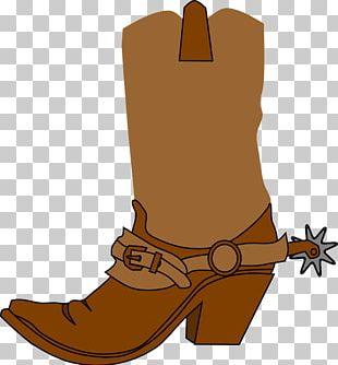 Cowboy Boot Cowboy Hat PNG