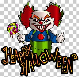 It Halloween Evil Clown PNG