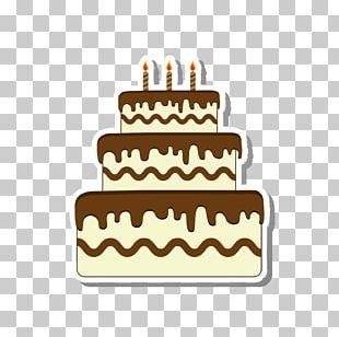 Birthday Cake Chocolate Cake Layer Cake Fruitcake PNG