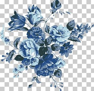 Flower Blue PNG