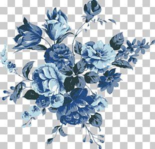 Flower Blue PNG