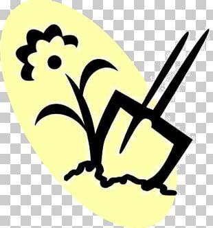 Garden Club Gardening Spade Shovel PNG
