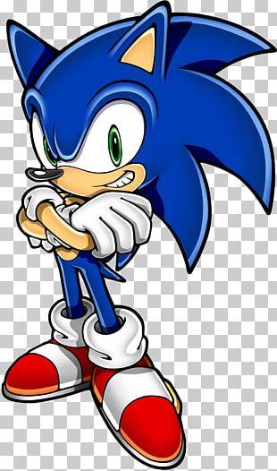 Sonic Hedgehog Standing Blue PNG