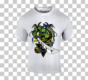 T-shirt Plastisol Teenage Mutant Ninja Turtles Bluza Cotton PNG