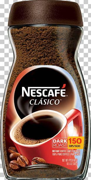 Instant Coffee Cappuccino Nescafé Decaffeination PNG