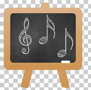 Musical Note Drawing Blackboard Photography PNG