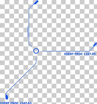 Line Point Angle Blue Pattern PNG