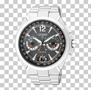 Eco-Drive Citizen Holdings Watch Satellite Clock PNG