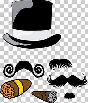 Hat Moustache Beard PNG