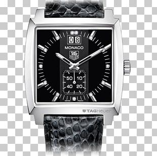 TAG Heuer Monaco Automatic Watch Swiss Made PNG